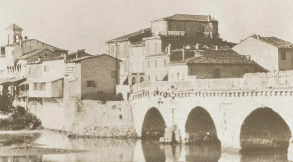 borgo San Giuliano, Rimini: le case demolite nel 1933