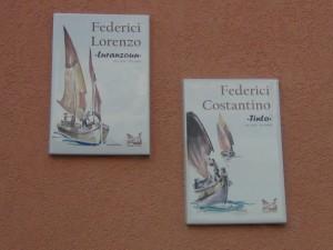 federici Lorenzo soprannome loranzonn e federici costantino soprannome tinto marinai borgo san giuliano societa de borg rimini italy