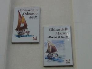 """Ghirardelli Odoardo, soprannominato """"Barche"""" Ghirardelli Marino, soprannominato """"Marino 'd Barche"""""""