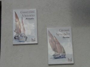 """Guazzini Vittorio, soprannominato """"Pirinela"""" Grossi Secondo, soprannominato """"Tachin"""""""