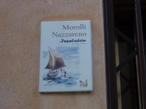 "Morolli Nazareno soprannominato ""Insaladein"""