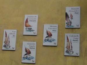 "Vasi Alfredo soprannominato ""Goz"" Vannucchi Leonardo, soprannominato ""Comunardo""  Guazzini Angelo soprannominato ""Murlach"" Moroni Vincenzo soprannominato ""Canci"" Mancini Alessandro soprannominato ""Dinel""  Calcinelli Luigi soprannominato ""Sfaciato"""