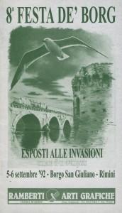 COP FESTA DE BORGH 1992