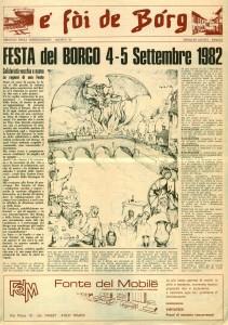 FOI DE BORGH AGOSTO 1982