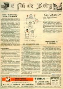 FOI DE BORGH GENNAIO1979