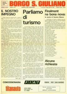 FOI DE BORGH LUGLIO 1979