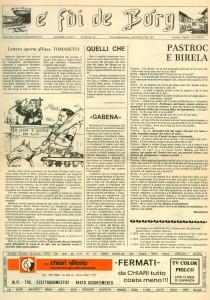 FOI DE BORGH MAGGIO 1979