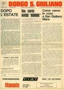 FOI DE BORGH NOVEMBRE 1974